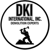 Logo for DKI International, Inc. Demolition Experts