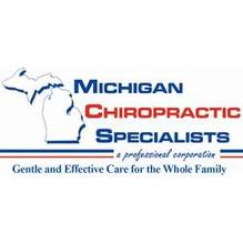 Logo for Michigan Chiropractic Specialists